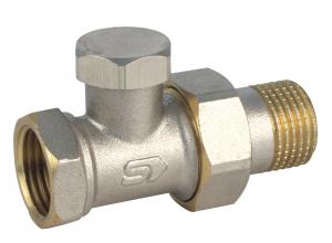 VE-4308 A 1 / 2˝ Radiátorová spojka priama