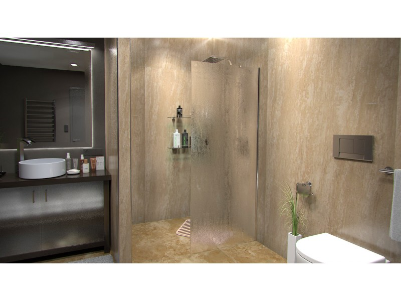 Alfa 80 Grape Well Pevná sprchovací zastena