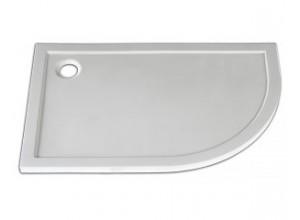 STONE 1290R L Arttec sprchová vanička štvrťkruhová ľavá
