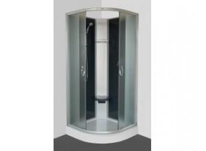 SUNNY STONE Arttec Sprchovací box s vaničkou z liateho mramoru, série Shark