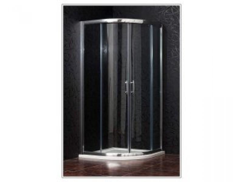 BRILIANT 100 clear NEW - Sprchovací kút štvrťkruhový
