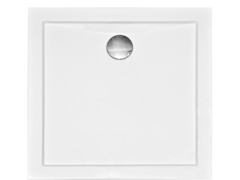 AQUARIUS 80x80 cm Olsen-Spa sprchová vanička štvorcová akrylátová