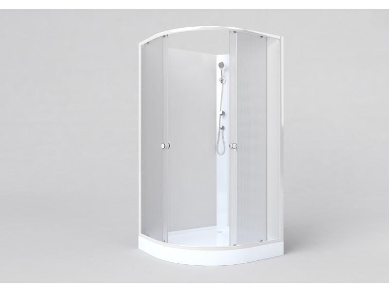 BIANCA 100x80 pravá Well Sprchový box