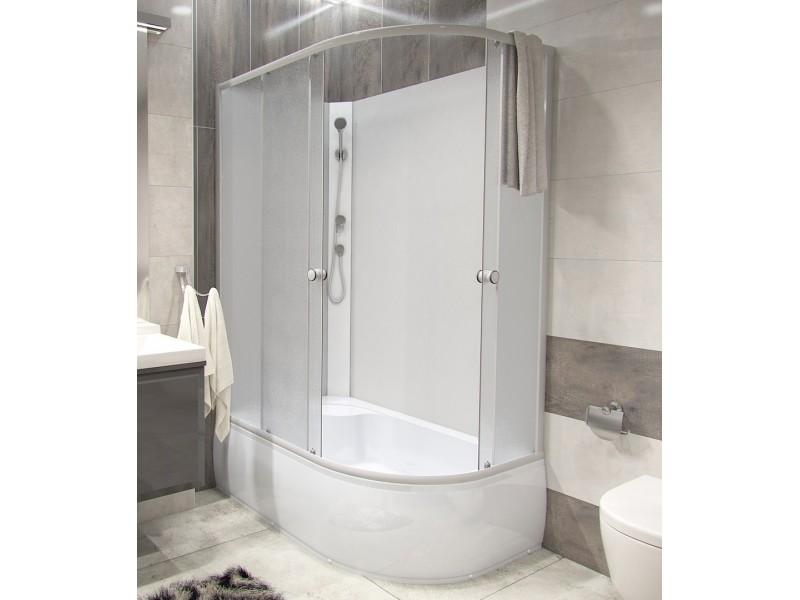 BIANCA 120 HIGH ľavá Well Sprchový box