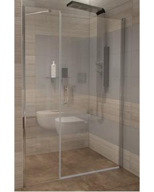 GAMA 150×190 cm číre Well sprchové dvere do niky