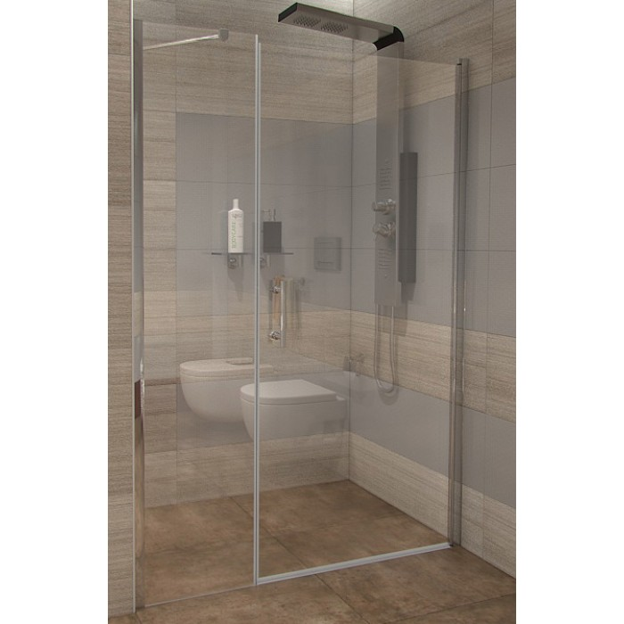 GAMA 110×190 cm číre Well sprchové dvere do niky