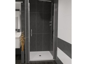 ALFA 90 Číre Well Sprchové dvere do niky