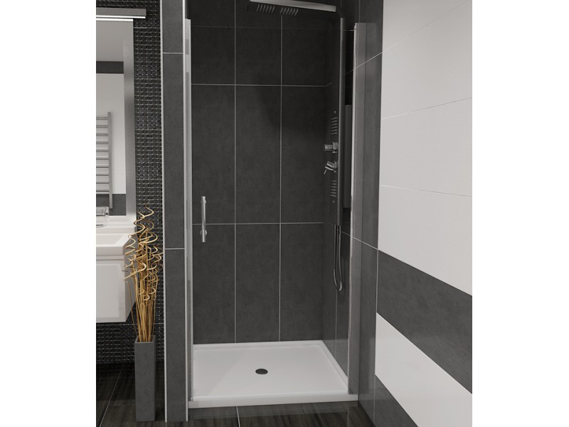 ALFA 95 Číre Well Sprchové dvere do niky