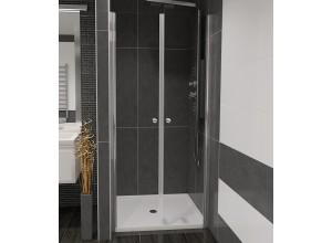 BETA 80 Číre Well Sprchové dvere do niky