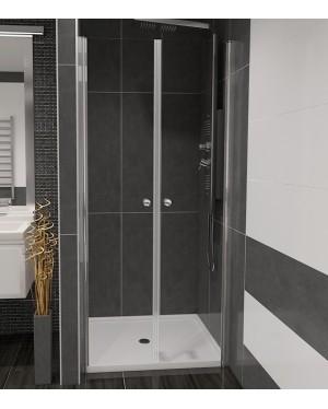 BETA 90 Číre Well Sprchové dvere do niky