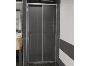 NICOL 120 číre Well sprchové dvere do niky