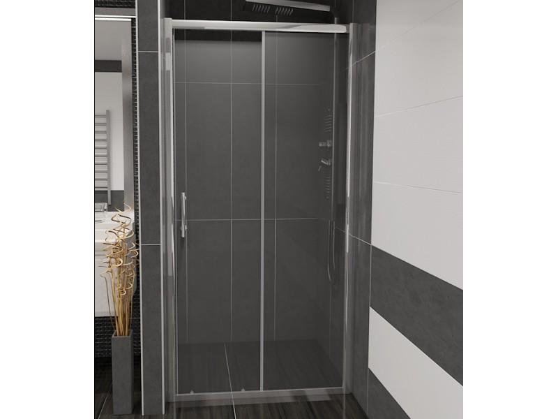 NICOL 100 číre Well sprchové dvere do niky