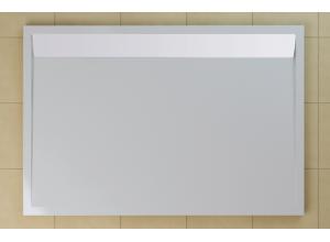 Sprchová vanička obdĺžniková 90×150 cm biela, kryt biely WIA 90 150 04 04