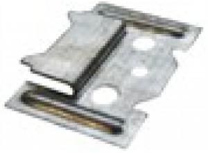 OTTOPAN Hopa Montážne klipy 62 × 32 mm s vrutmi 100 ks v balení