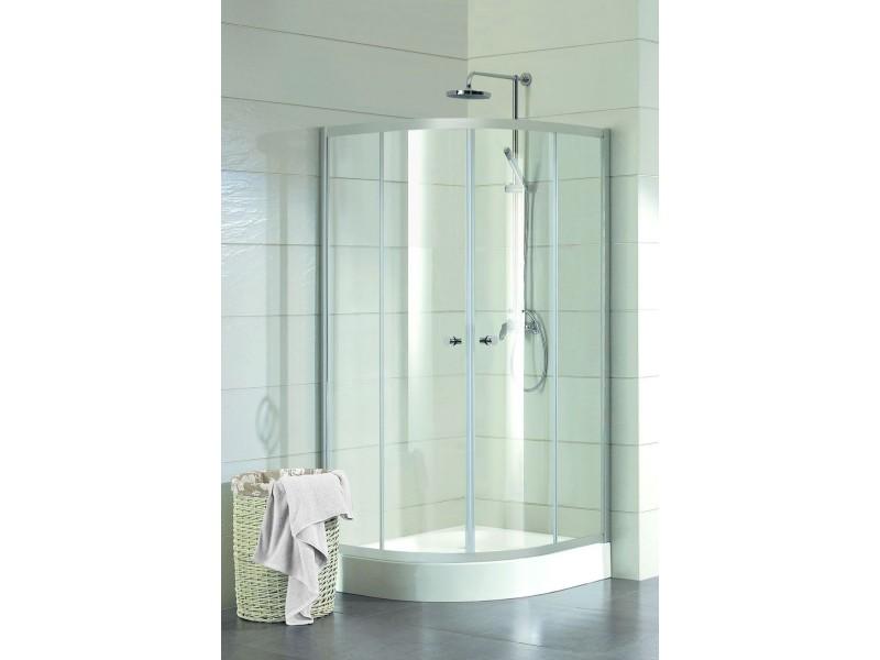 NERJA 80 × 80 Hopa Štvrťkruhový sprchovací kút