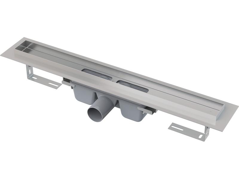APZ7-FLOOR ALCAPLAST Líniový podlahový žľab na vloženie dlažby