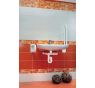 A434 ALCAPLAST Sifón pre umývadlo priestorovo úsporný s prevlečnou maticou 5/4˝