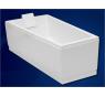 CAVALLO 160 × 90 P Vagnerplast Vaňa asymetrická s podporou