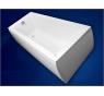 VERONELA 160 × 70 Vagnerplast Vaňa obdĺžniková s podporou