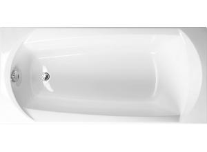 EBONY 160 × 75 Vagnerplast Vaňa obdĺžniková s podporou