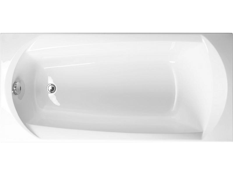 EBONY 170 × 75 Vagnerplast Vaňa obdĺžniková s podporou