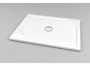 WMA 70 90 04 SanSwiss Sprchová vanička obdĺžniková 70×90 cm - biela