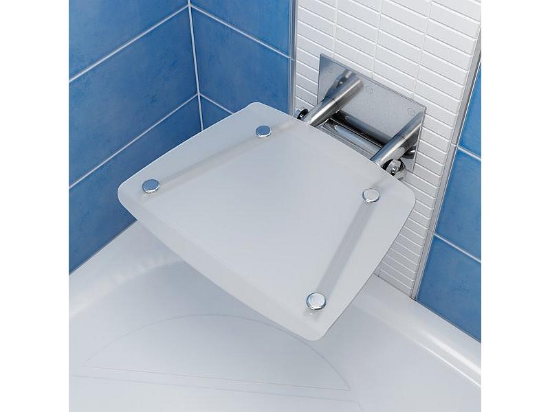 RAVAK OVO B OPAL Sprchové sedadlo hranaté