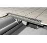 APZ1 - ALCAPLAST Líniový podlahový žľab s okrajom