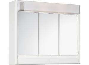 RUBÍN 60 x 51 Jokey Zrkadlová skrinka so žiarovkou 2x40 W - biela