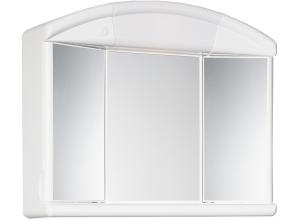 SALVA (SOLO) Zrkadlová skrinka - biela