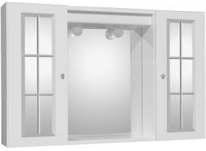 OSLO 90 SP Jokey Zrkadlová skrinka - biela