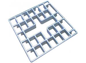 Odkladací rošt pre drez 74 × 52,70 × 50 roma