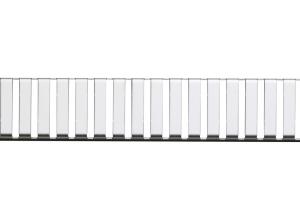 LINE-650L Alca Plast Rošt pre líniový podlahový žľab - nerez lesk