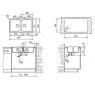 ALBA 80 B-TG 790x500 TEKA pieskovo béžová drez granit