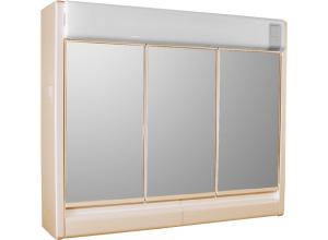 RUBÍN BB Jokey Zrkadlová skrinka so žiarovkou 2x40 W - béžová