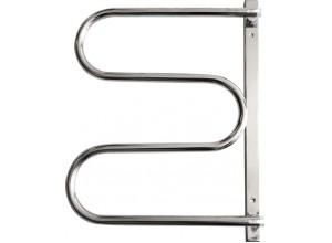 ES2 - nerez Olsen-Spa kúpeľňový sušiak uterákov - otočný
