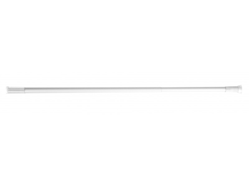 Tyč na sprchový záves Olsen 140-260 biela