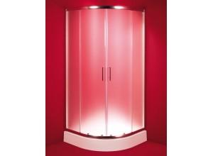 MURCIA 80 × 80 frost sklo Hopa sprchovací kút