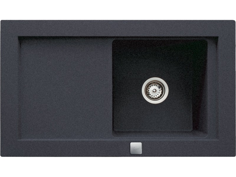 AURA 45 B-TG 920x525 TEKA čierna metalická drez granit