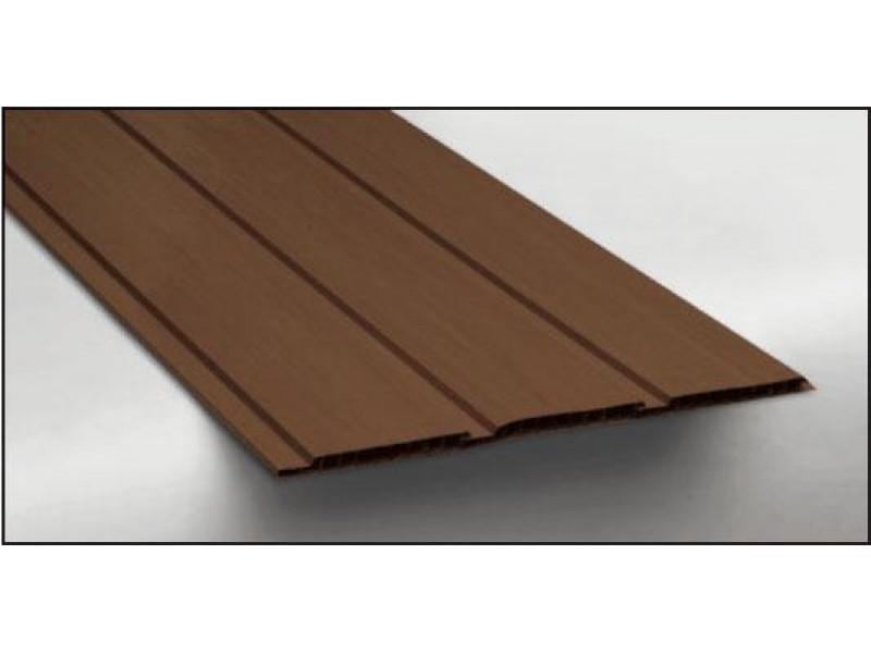 Hopa Plastový obkladový panel venkovní 07 tmavé dřevo