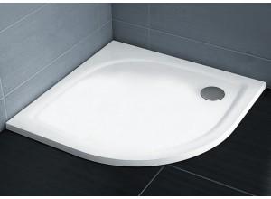 RAVAK ELIPSO PRO 90 FLAT Sprchová vanička štvrťkruhová 90 cm - biela