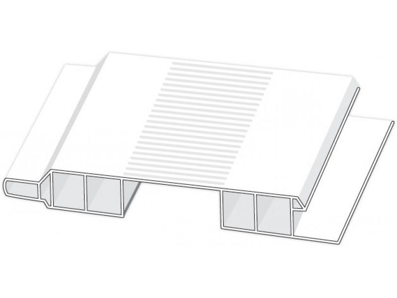 Hopa Ventilačné profil vonkajší 08 svetlé drevo 3m