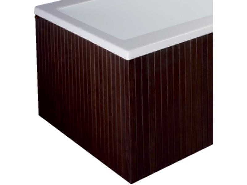 Drevený panel čelný wenge pre vane HOPA