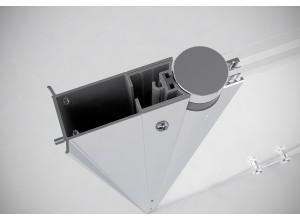 Rozširujúce profil pre dvere BETA od Well, 33 mm