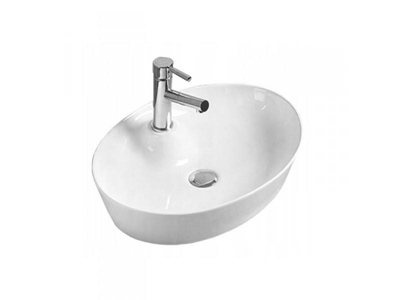 ALMA Well umývadlo na dosku 55 x 40 cm biele