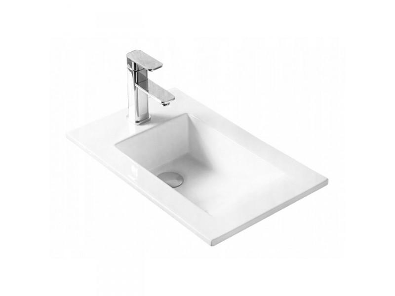 ALYSO Well umývadlo zapustené 34 x 55 cm biele