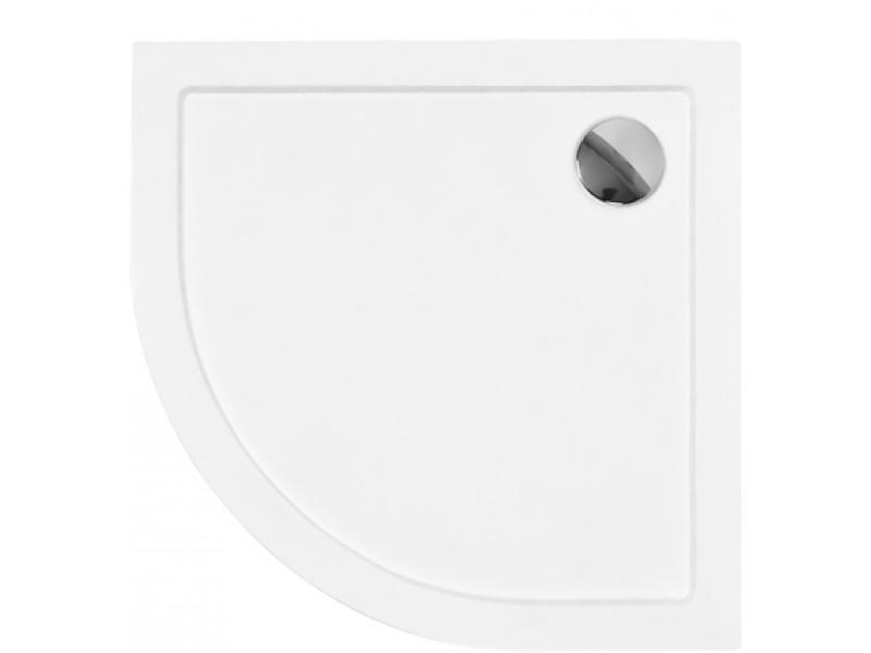 ARON 80x80 cm Olsen-Spa sprchová vanička štvrťkruhová akrylátová