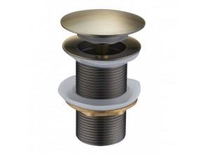 CLICK-CLACK Well výpust bez prepadu bronz