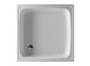 KITEN II 80 Olsen-Spa Smaltovaná plechová sprchová vanička, výška 16 cm