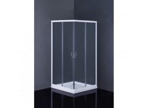 Štvorcový sprchovací set Linares + Aquarius Olsen-Spa